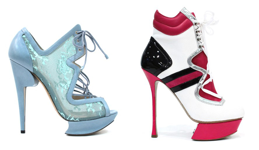 Nicholas Kirkwood Shoes for Victoria's Secret Fashion Show 2012-2013