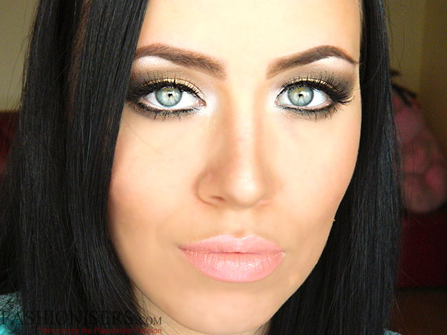 Earthy Makeup: Gold & Brown Eye Makeup Tutorial