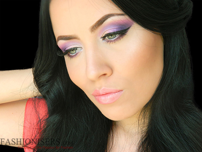 Party Makeup: Lilac Purple Smokey Eye Makeup Tutorial