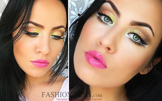 Candy Corn Makeup Tutorial