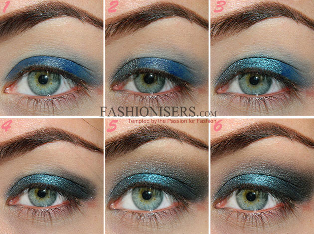 Bluetiful Christmas Makeup Tutorial