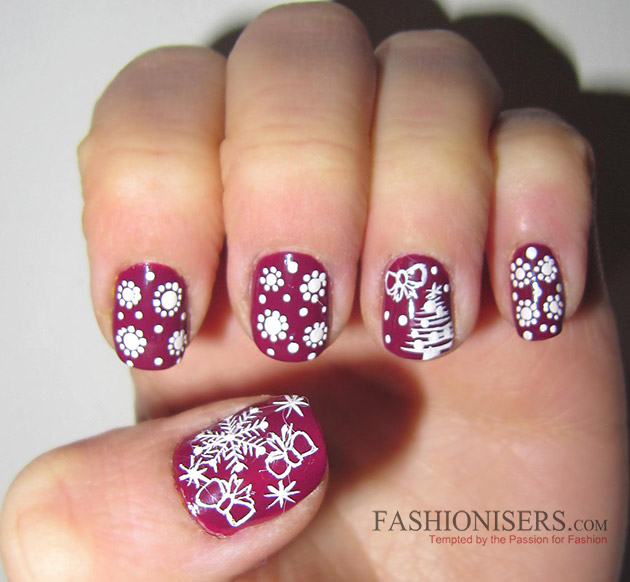 New years eve nail art designs that scream cuteness fashionisers new years eve nail art designs snowflakes nails prinsesfo Image collections