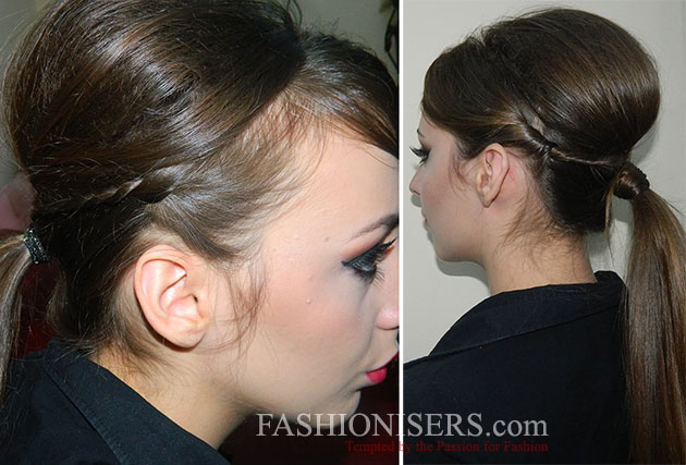 Christmas Modern Chic Updo Tutorial