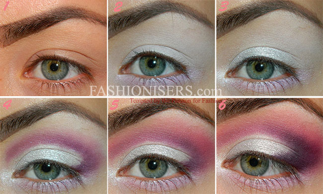Lovely Pinky-Purple Makeup Tutorial for Valentine's Day