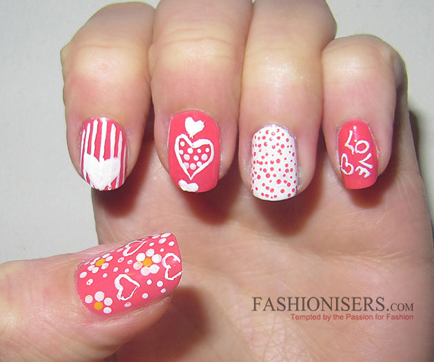 17 Love Inspired Valentines Day Nail Art Designs That Will Make You
