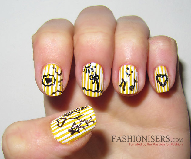 17 Love-Inspired Valentine's Day Nail Art Designs: Love Nails