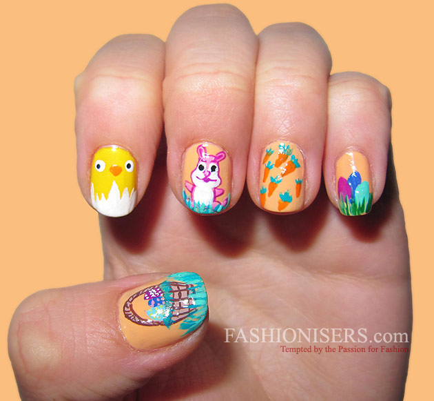 14 Cute Easter Nail Art Designs