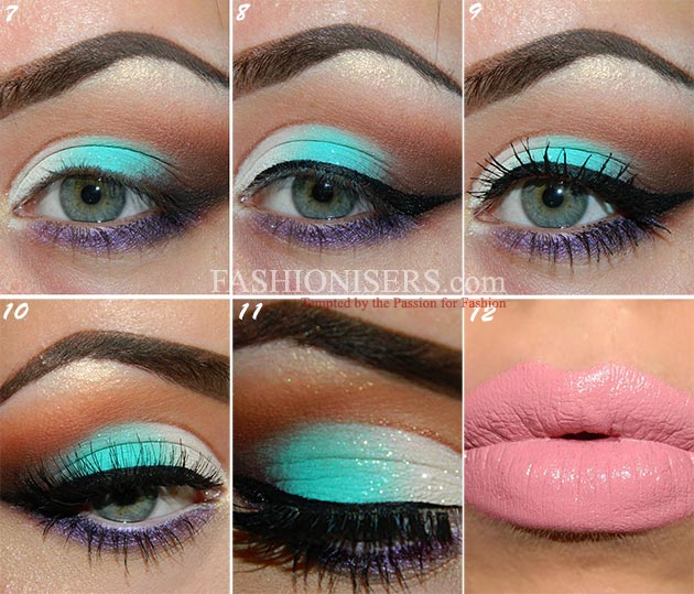 Energizing Mint Green Makeup Tutorial : Fashionisers