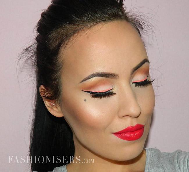 Modern Pin Up Makeup Tutorial Fashionisers