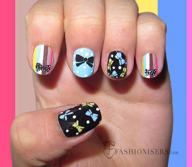 20 Fun Summer Nail Art Designs - 20 Fun Summer Nail Art Designs Fashionisers
