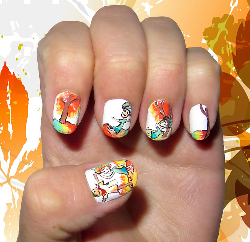 13 Dreamy Fall Nail Art Designs That Are More Than ...