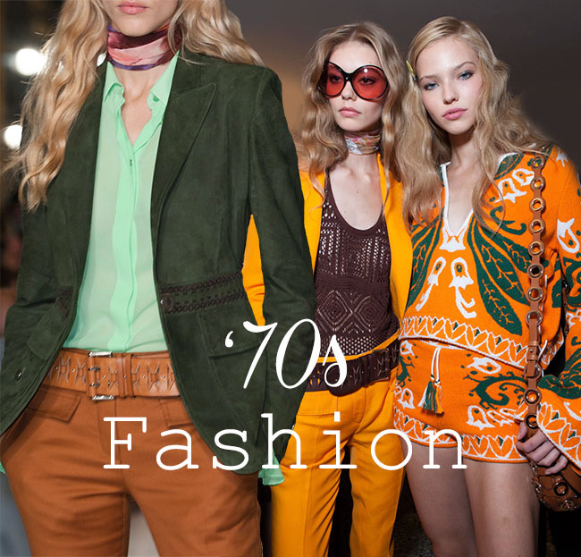 Spring/ Summer 2015 Seventies Fashion Trend