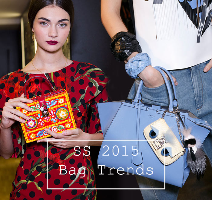 Spring/ Summer 2015 Handbag Trends