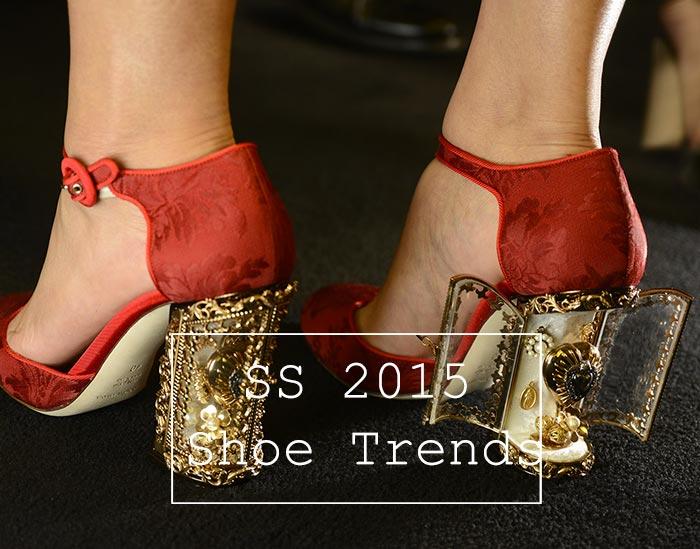 Spring/ Summer 2015 Shoe Trends