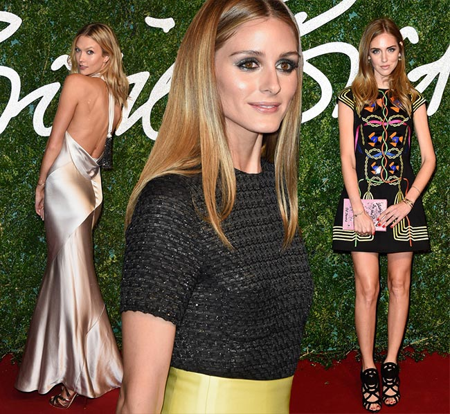 British Fashion Awards 2014 Red Carpet Fashion