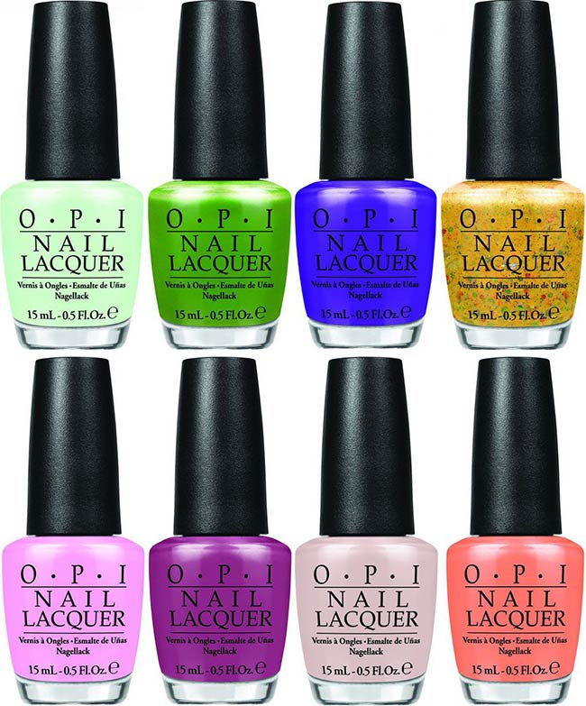 OPI Hawaii Spring 2015 Nail Polish Collection