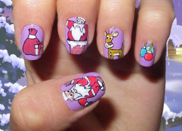 19 Unique Holiday Nail Art Designs
