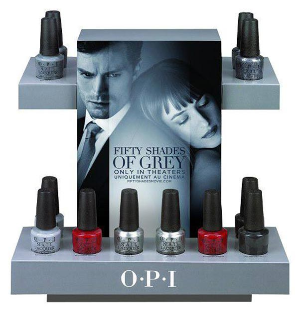 opi fifty shades of grey spring 2015 collection fashionisers