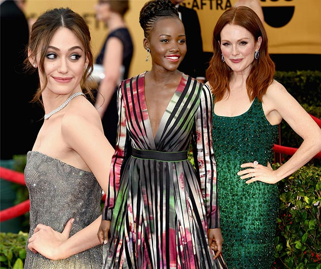 SAG Awards 2015 Red Carpet Fashion: Best Dressed Celebrities