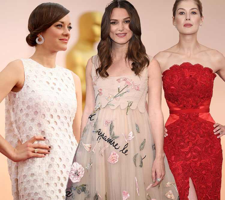 2015 Oscars Red Carpet Fashion