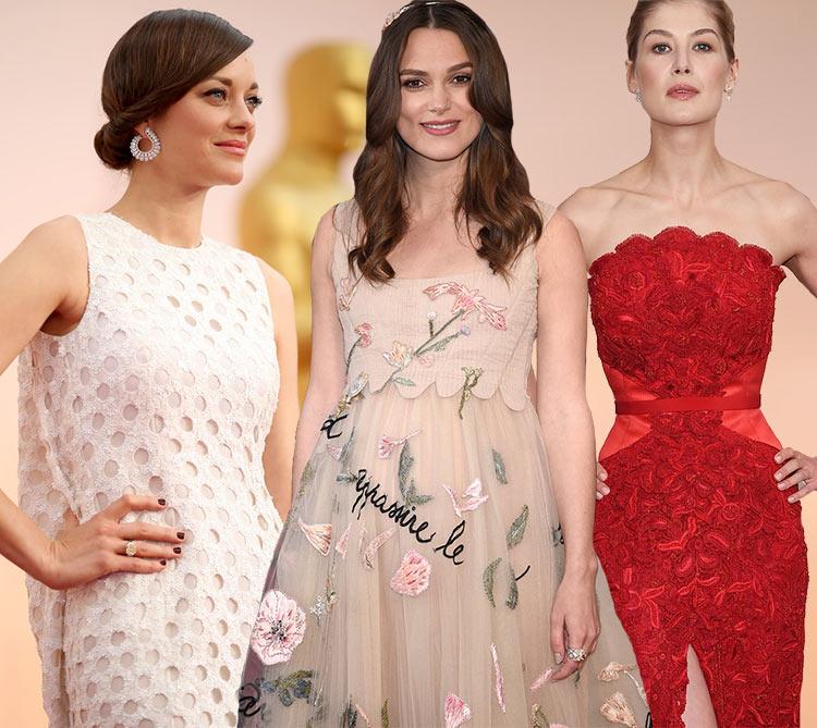 2015 Oscars Red Carpet Fashion