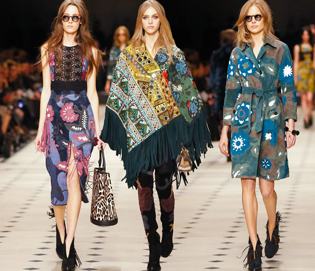 Burberry Prorsum Fall/Winter 2015-2016 Collection