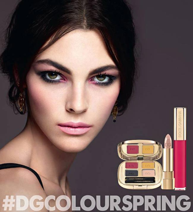 Dolce & Gabbana Spring 2015 Makeup Collection