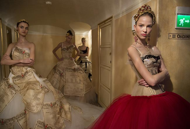 Dolce & Gabbana Alta Moda Spring/Summer 2015 Collection