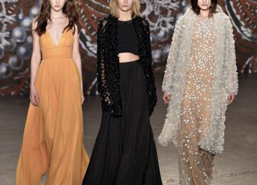 Jenny Packham Fall/Winter 2015-2016 Collection – New York Fashion Week