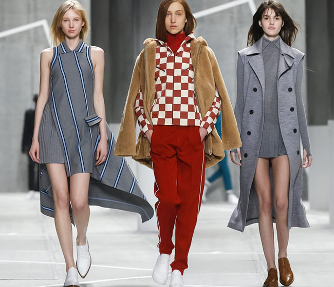 Lacoste Fall/Winter 2015-2016 Collection – New York Fashion Week