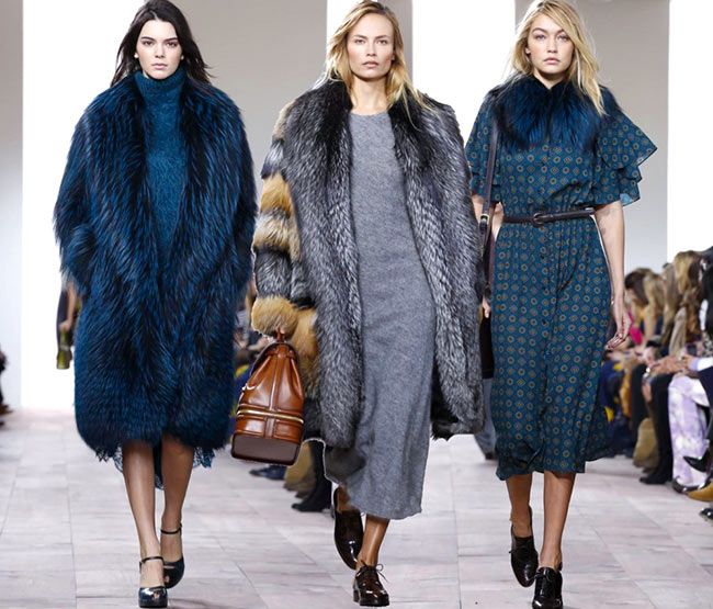 6168c249bcf6 Michael Kors Fall Winter 2015-2016 Collection