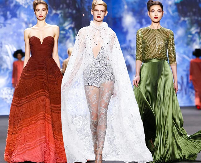 Naeem Khan Fall/Winter 2015-2016 Collection - New York Fashion Week
