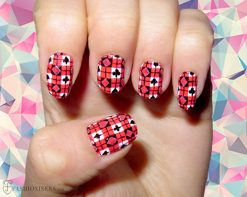 12 Modern Checkered Nail Art Designs Fashionisers