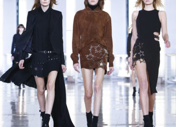 Anthony Vaccarello Fall/Winter 2015-2016 Collection – Paris Fashion Week