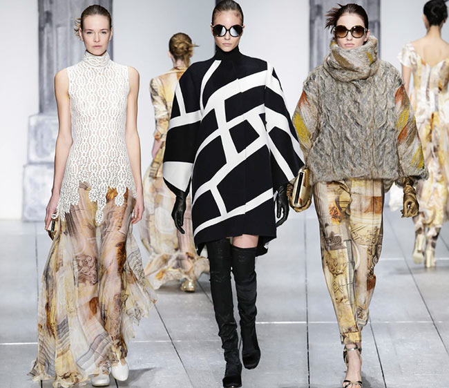 Laura Biagiotti Fall/Winter 2015-2016 Collection – Milan Fashion Week