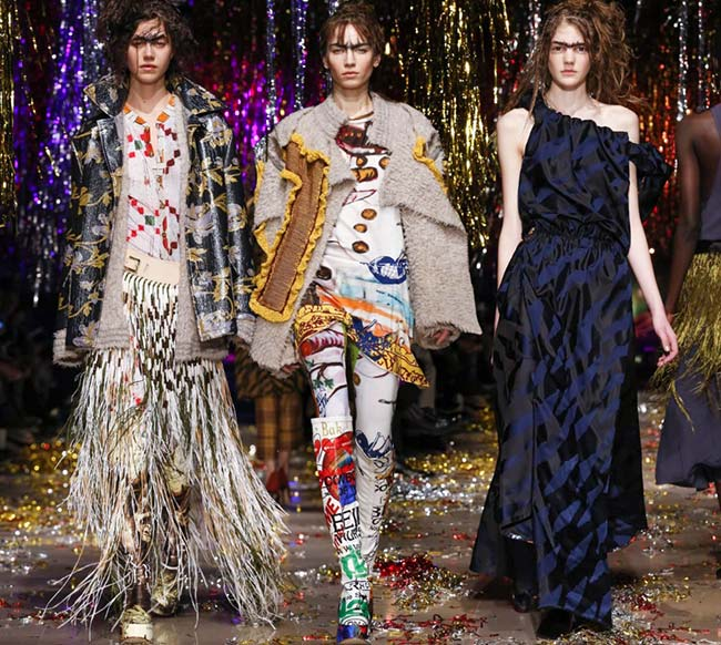 Vivienne Westwood Fall/Winter 2015-2016 Collection - Paris Fashion Week