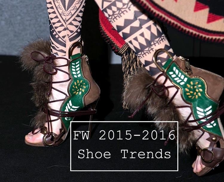 Fall/ Winter 2015-2016 Shoe Trends