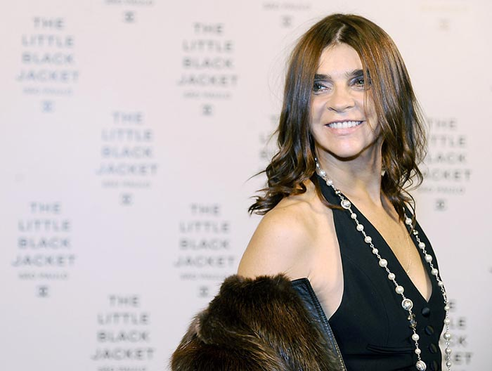 Carine Roitfeld Designs a Capsule Fashion Line for Uniqlo