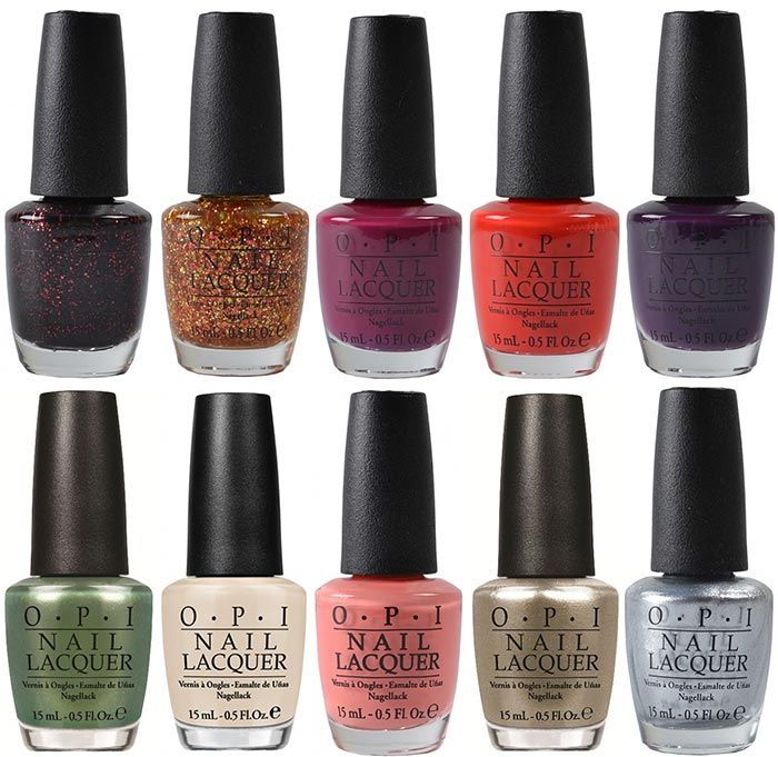 OPI Coca Cola Anniversary Summer 2015 Nail Polish Collection