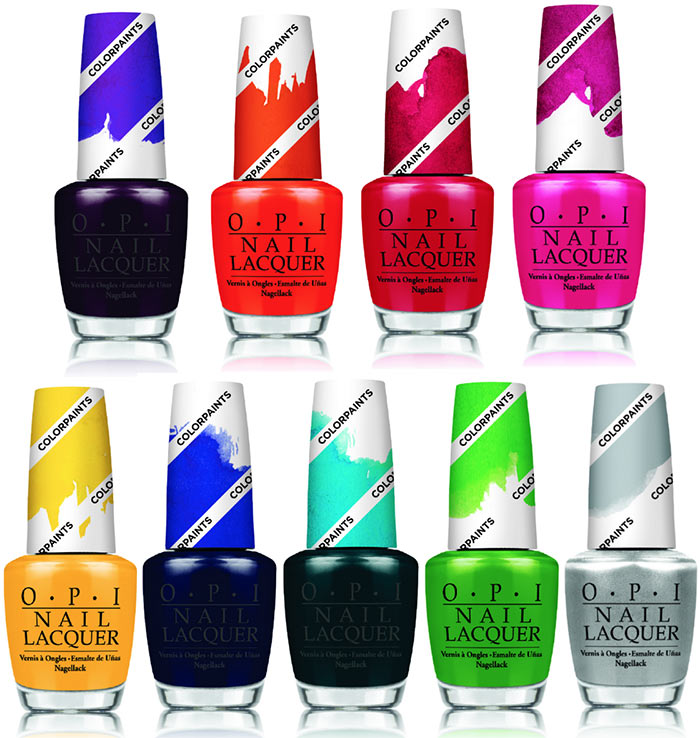 OPI Color Paints Summer 2015 Nail Polish Collection | Fashionisers