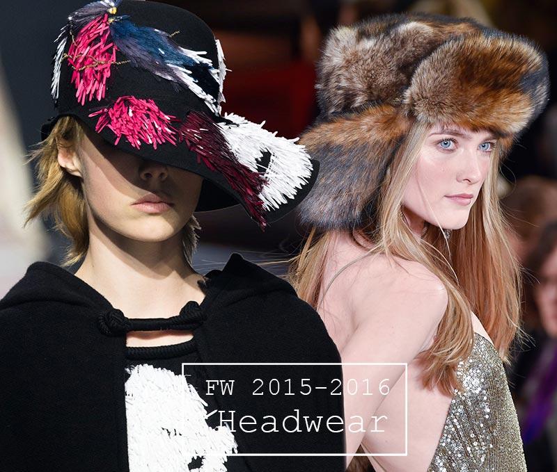 Fall/ Winter 2015-2016 Headwear Trends