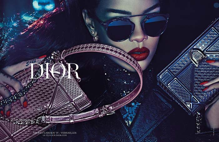 Rihanna for Dior 'Secret Garden' Campaign