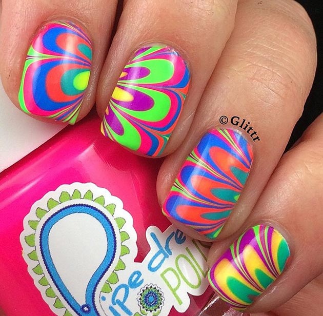 10 Beach-Ready Summer Nail Art Ideas To Get Inspired By | Fashionisers