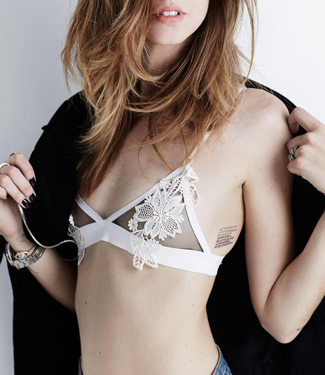 Shop Your Shape: The Sexiest Lingerie. The most flattering bras and panties for every body type.