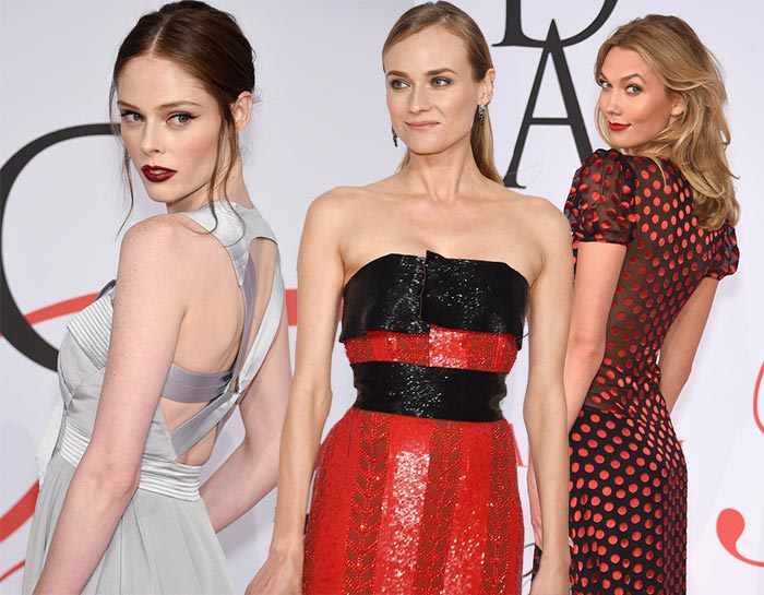 2015 CFDA Awards Red Carpet Fashion