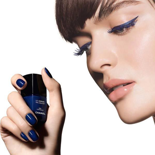 Chanel Blue Rhythm Summer 2015 Makeup