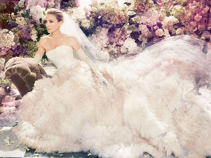 Sarah Jessica Parker Launches Wedding Shoes