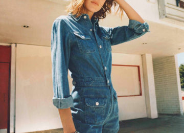 Alexa Chung's New AG Jeans Collection of Fall 2015