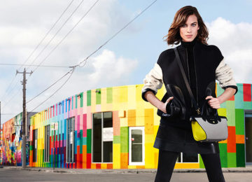 Alexa Chung Is Again Longchamp's Face For Fall 2015