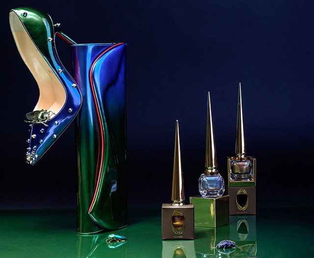 Christian Louboutin Scarabee Nail Collection